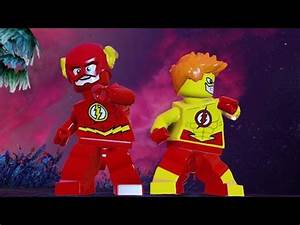 FLASH VS KID FLASH (BATTLE) - LEGO BATMAN 3 - YouTube