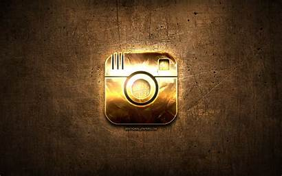 Instagram Network Social Background Brown Metal Creative