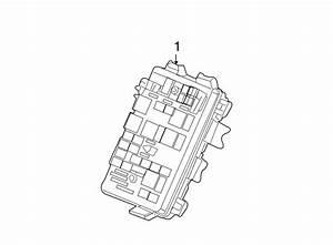 Pontiac Grand Prix Junction Block  Engine Compartment  5 3
