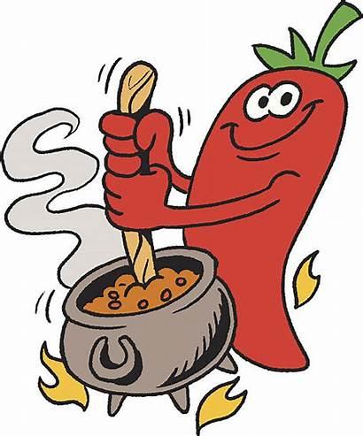 Chili Cartoon Pepper Chef Clip Illustrations Vectors