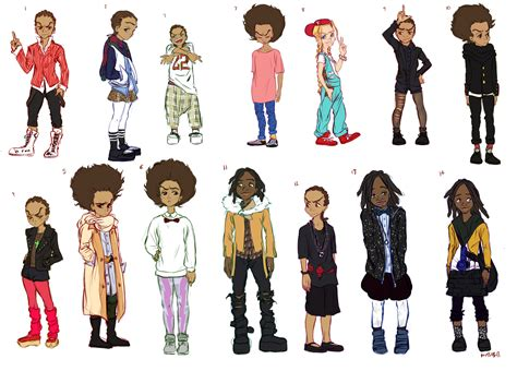 Hit Dem Folks Riley Boondocks Pictures To Pin On Pinterest