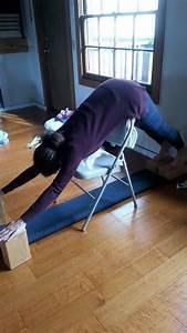 Adho Mukha Svanasana | Iyengar Yoga Chair Inversions ...