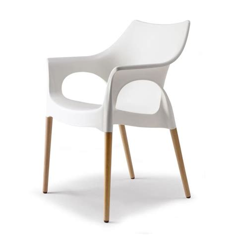 chaise blanche bois chaise design blanche pied bois images