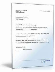 Formlose Einverständniserklärung Muster : befreiung von der teilnahme an einer klassenfahrt de musterbrief download ~ Themetempest.com Abrechnung