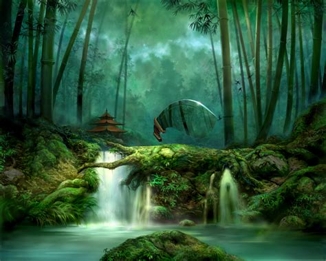 fantastic pictures  forests   fun