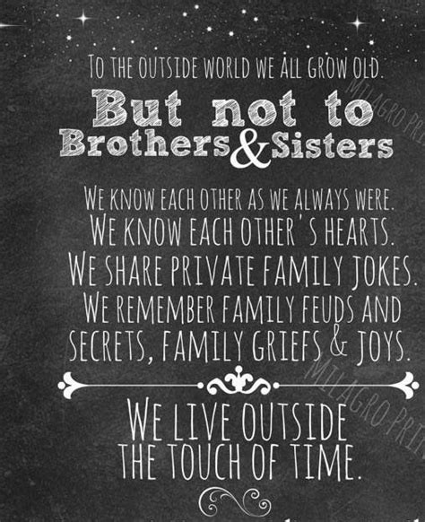 brothers  sisters family quotes pinterest  love