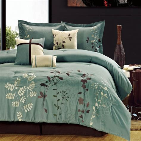 space living bliss garden 8 piece sage comforter set view all