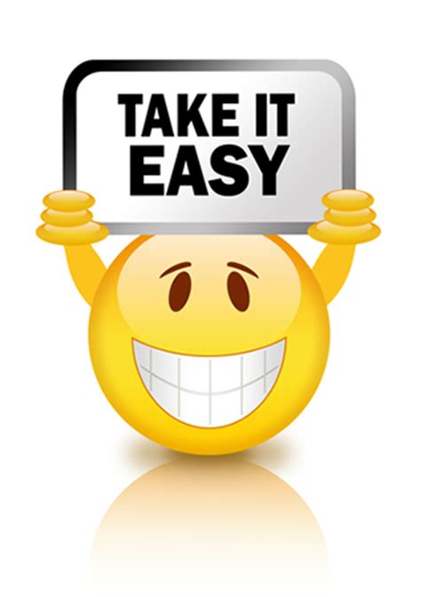 Take It Easy  Symbols & Emoticons
