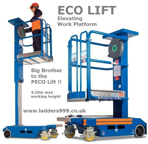 ladder for window eco lift non powered elevating platform lansford access ltd