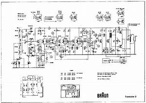 Braun Transistor 2 Am Radio Receiver Sch Service Manual