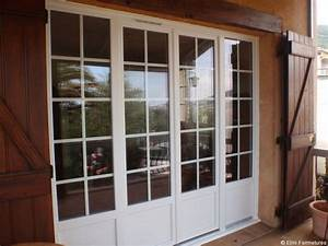 portes interieures avec prix porte fenetre pvc 4 vantaux With porte d entrée pvc avec fenetre pvc double vitrage