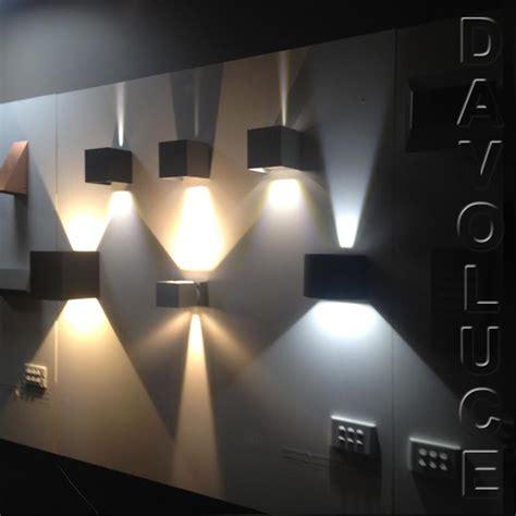asteria modern led up and aluminium exterior wall