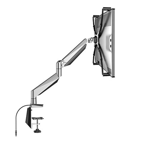 imac 27 desk mount loctek heavy duty gas spring lcd arm desk stand with vesa