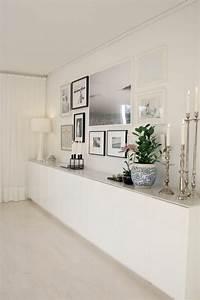 Dco Salon Meuble Chaussure Ikea Blanc Dans Le Couloir