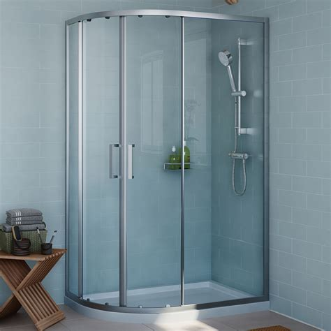 Cooke & Lewis Exuberance Offset Quadrant RH Shower