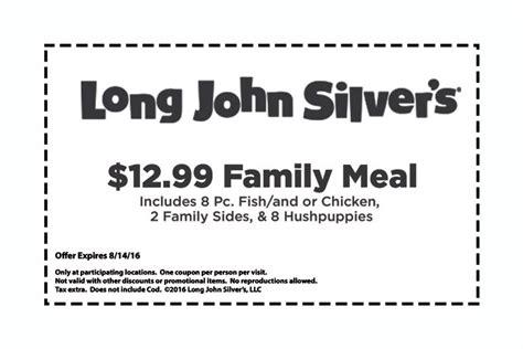 $2 Off Long John Silver's Promo Code & Coupons