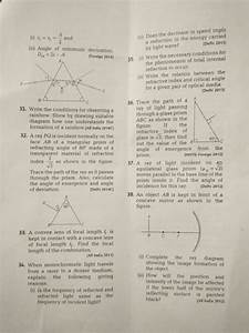 Pls Answer All These Pls Urgent 39 Draw A Ray Diagram To
