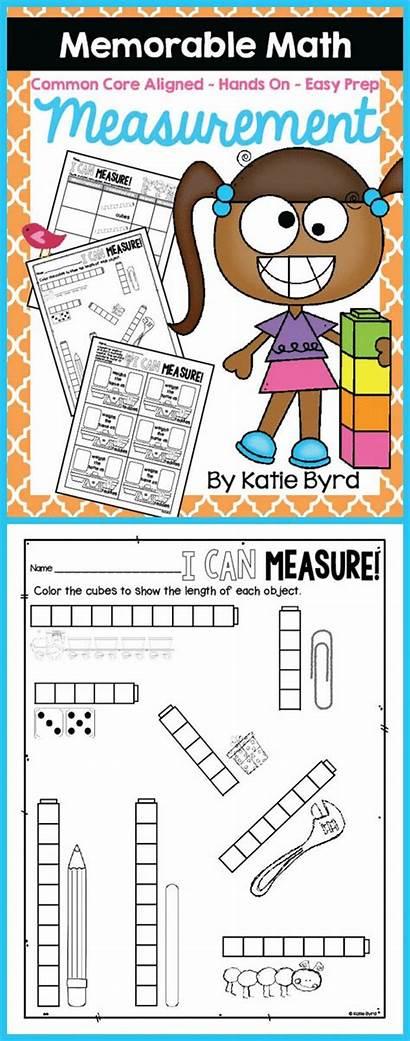 Measurement Activities Math Kindergarten Grade Classroom Preschool