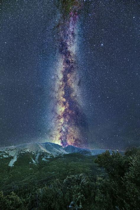 Basin David Lane The Milky Way Over Great
