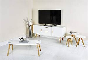 Table Tv But : best 30 of tv stand coffee table sets ~ Teatrodelosmanantiales.com Idées de Décoration