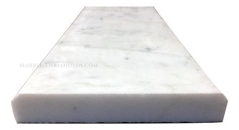 marble threshhold white carrara marble saddles and door thresholds size 30 x 4 x 3 4