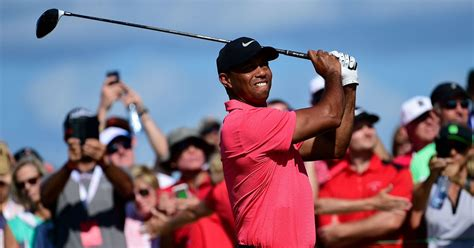 Tiger Woods Finishes Tied 9th in His Comeback Event