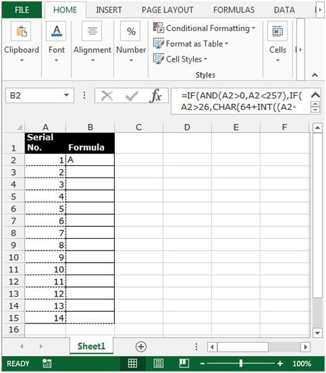 Letter Exle by How To Change Column Number With Letter In Microsoft Excel