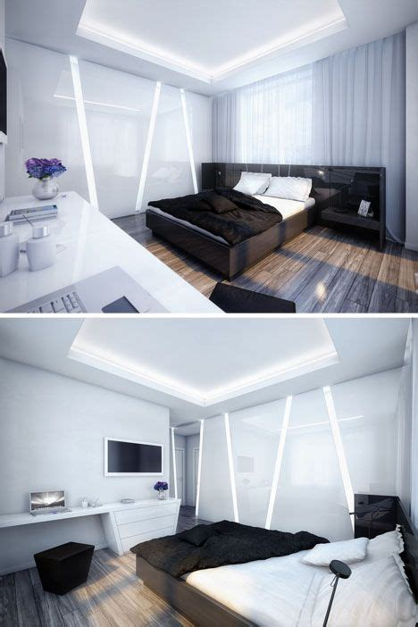 futuristic bedroom interior design future home