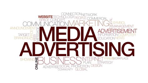 media advertising animated word cloud kinetic typography motion background videoblocks