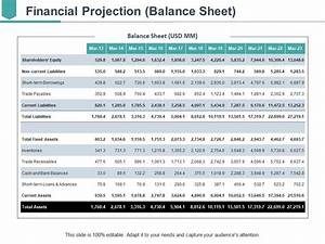 Financial Projections Example Financial Projection Ppt Ideas Template Presentation