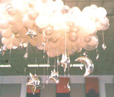 moon stars  balloon sculpture clouds balloon