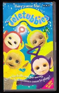 Teletubbies Here Come the Teletubbies VHS eBay