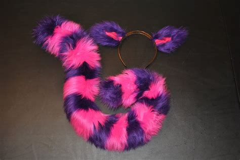 Cheshire Cat Ears + Small Tail Set Sold Out By Darkwolf