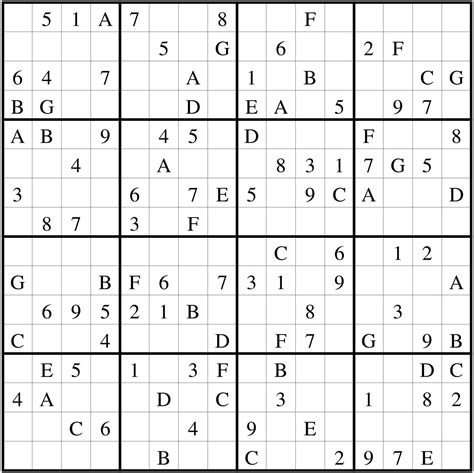 Simply download and print the pdf document. Sudoku Diario: Sudoku 16 x 16