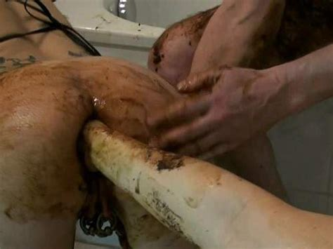 Busty German Wife Gets Scat Fisted In Doggy Style Pose