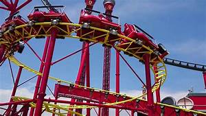 Junior Red Force Coaster At Ferrariland  Salou  May 2018