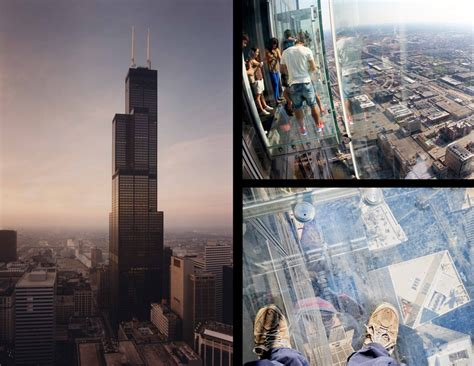 Willis Tower Observation Deck Wait Time by Tallest Observation Decks In The World E Architect