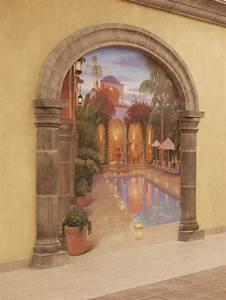 Image Trompe L Oeil : trompe l oeil murals good ideas pinterest ~ Melissatoandfro.com Idées de Décoration