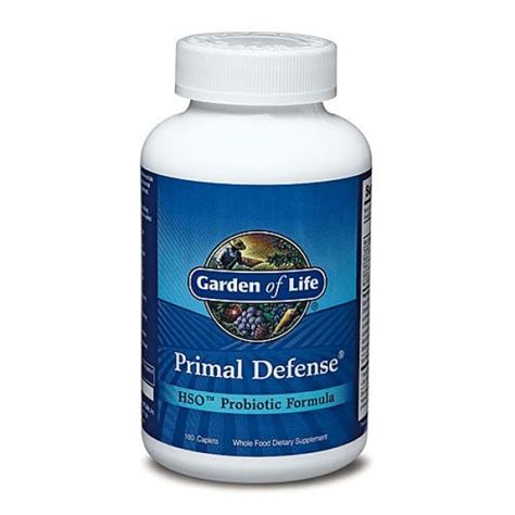 garden of primal defense garden of primal defense hso probiotic formula 180