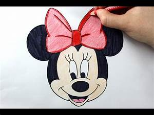 How to Draw Minnie Mouse - Easy Drawing Tutorial - YouTube