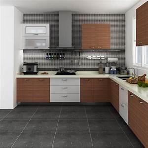 Modular, Kenya, Project, Simple, L-shaped, Small, Kitchen, Designs