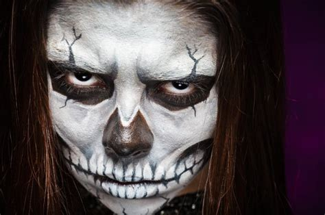 skelett gesicht schminken selbst gemacht 5 ideen f 252 r nachhaltige kost 252 me