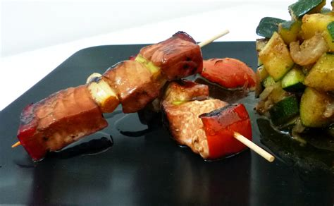 thon cuisine thon yakitori la recette facile par toqués 2 cuisine