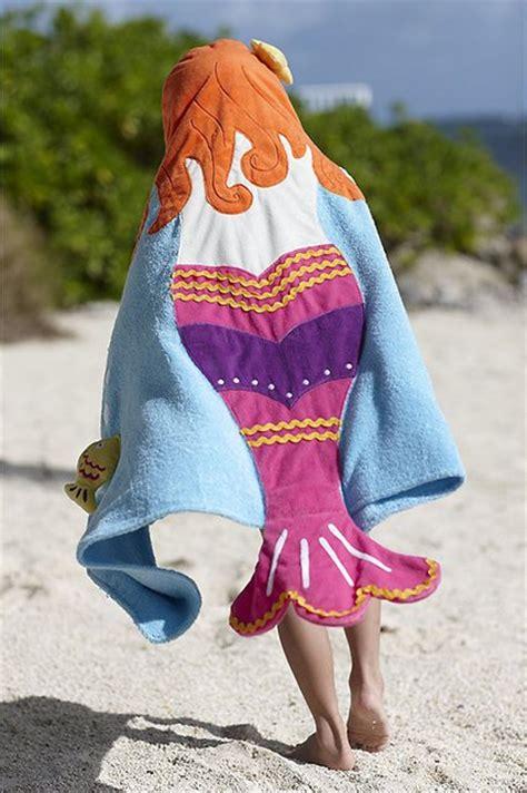 mermaid hooded towel fancycom