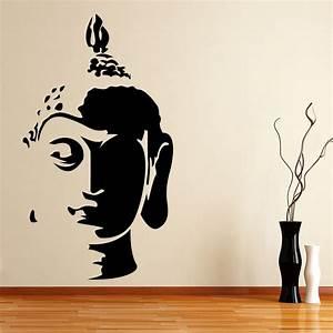 Shop Kakshyaachitra Tathagat Buddha Wall Stickers Online