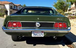 Ford Mustang Coupe 1972 Green For Sale  2f04h166532 1972