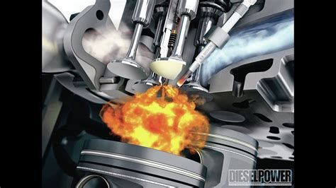 How Engine Combustion Chamber Work ?