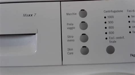 Bosch Maxx 7 Reset