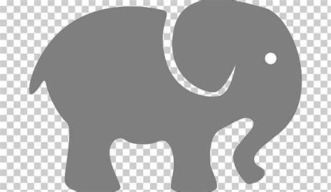 giant panda elephant silhouette png clipart african