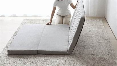 Sofa Bed Floor Unroll Forward Fold Base